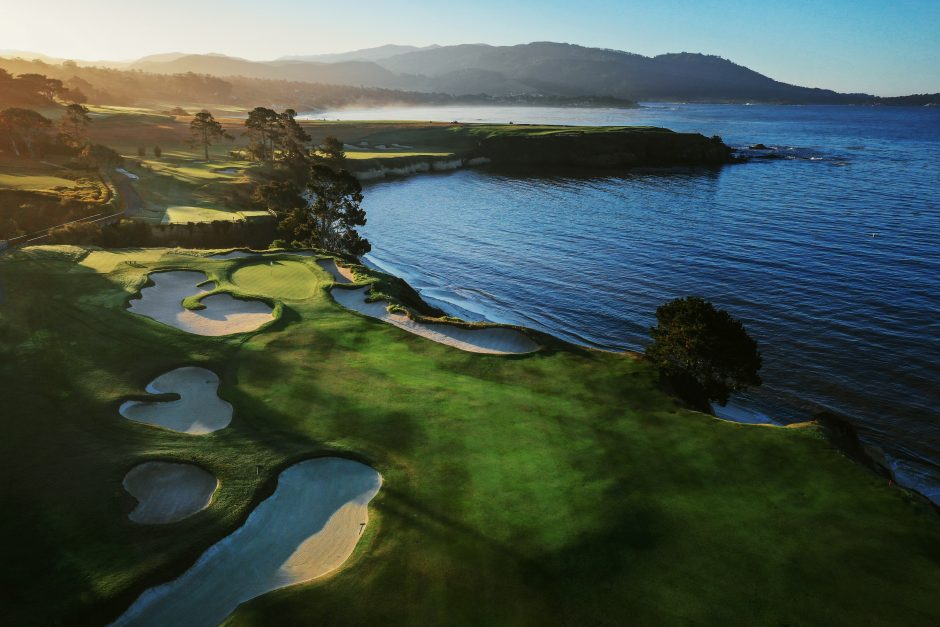 The average green depth at Pebble Beach is just 26 paces, which is exactly what No. 4 measures.