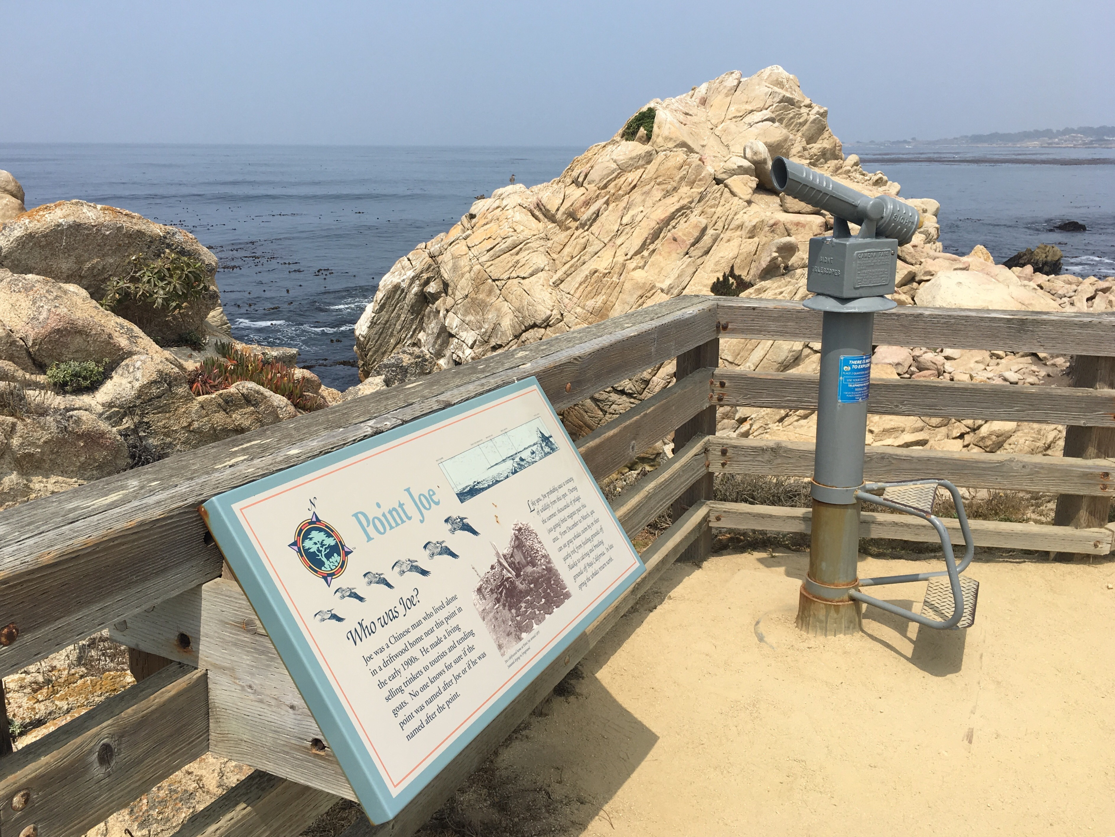 Point Joe on 17-Mile Drive