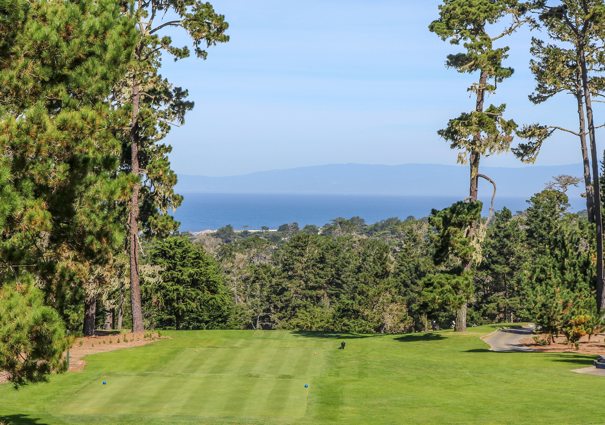 1st hole at Spyglass Hill