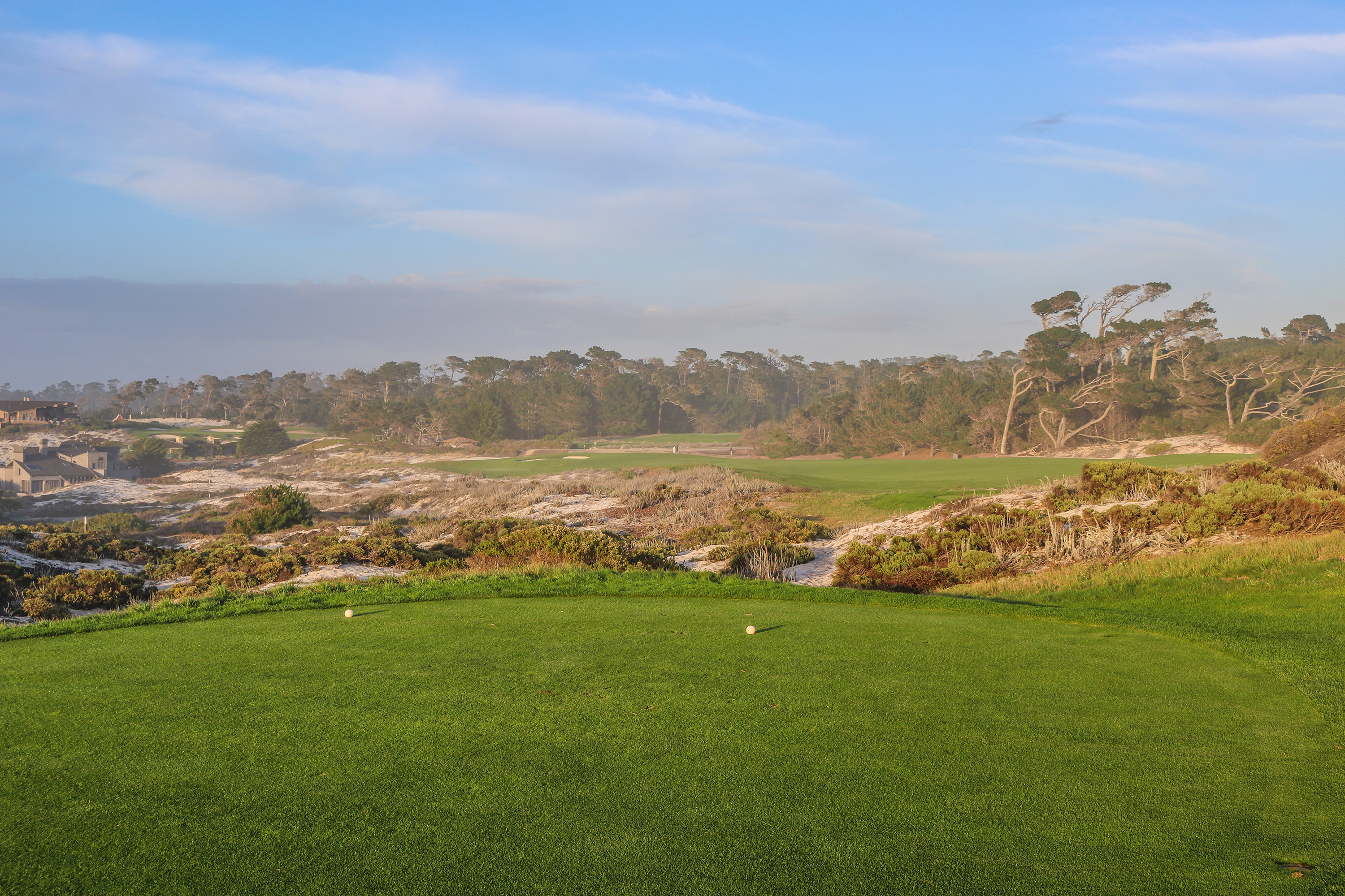 4th tee at Spyglass Hill