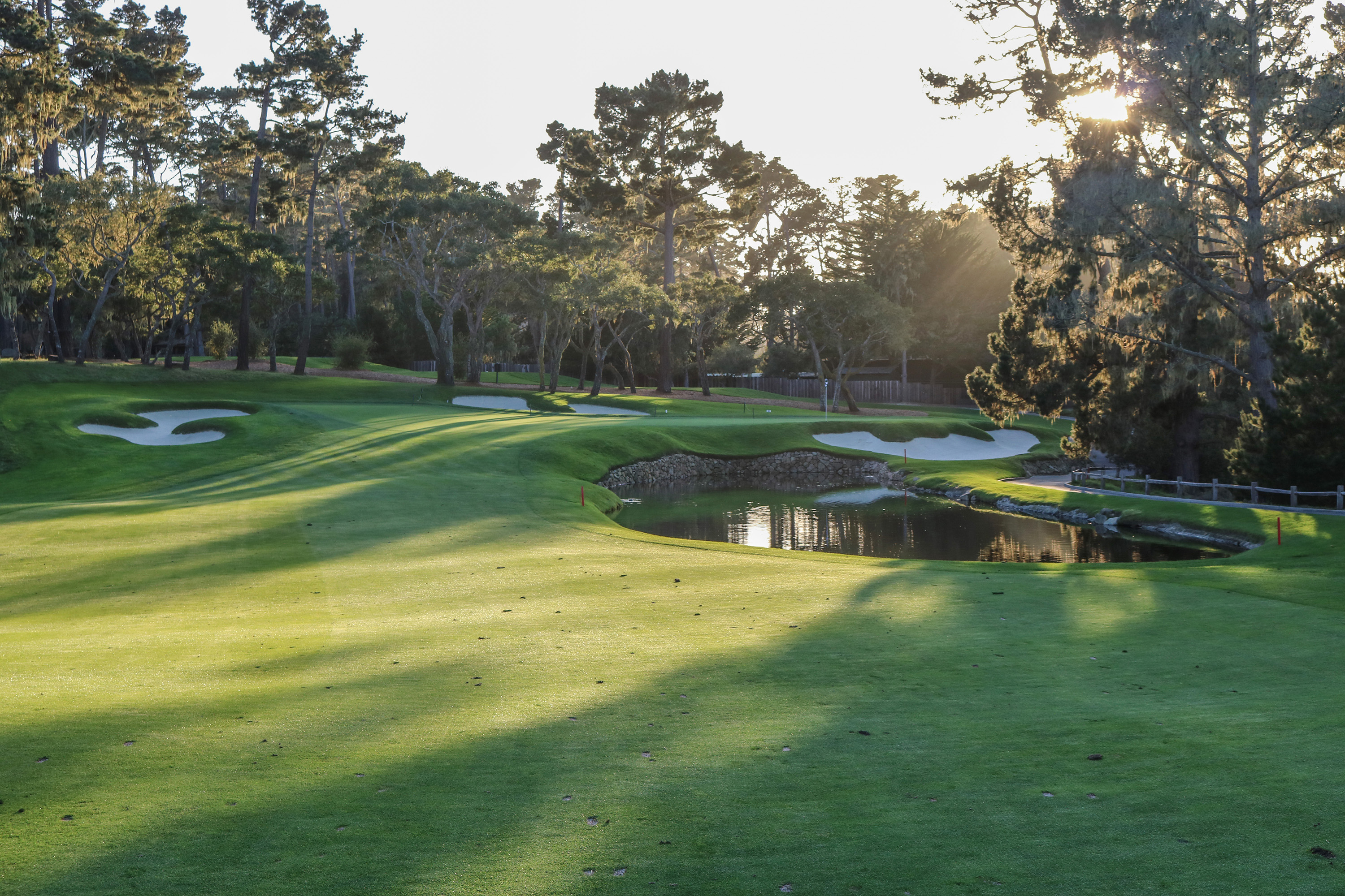 14th hole at Spyglass Hill