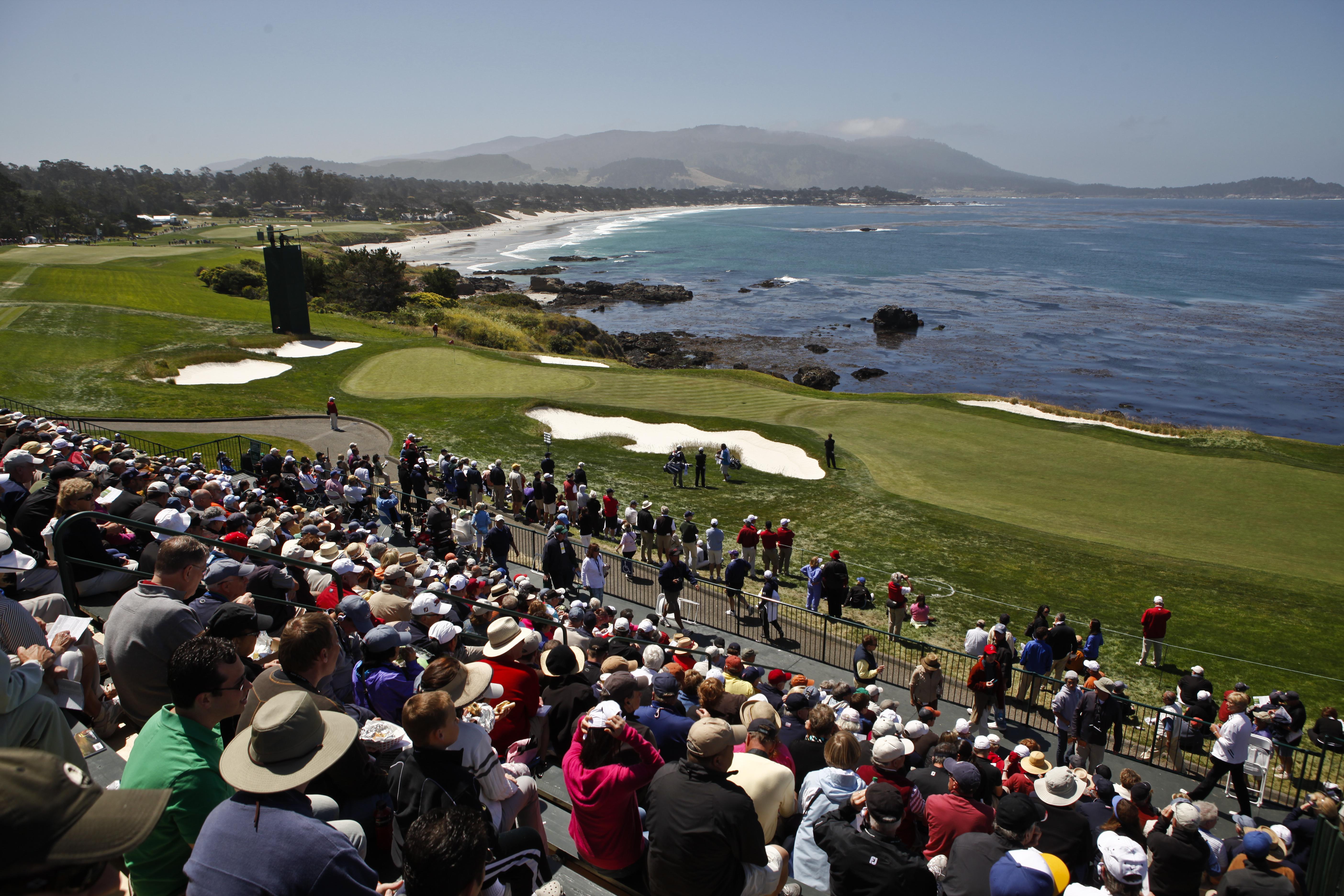 eighth hole Pebble Beach U.S. Open