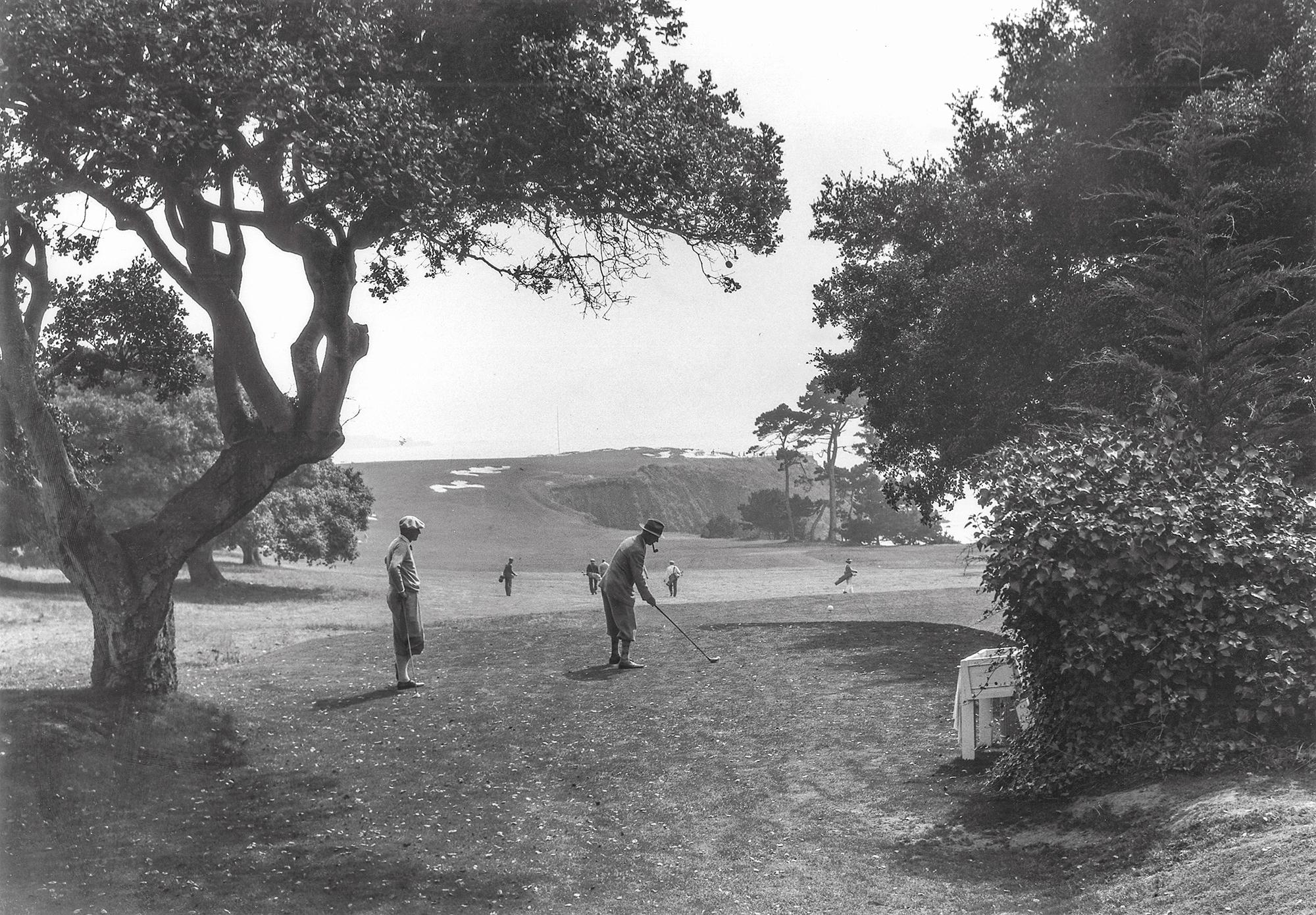 Sixth hole circa 1929