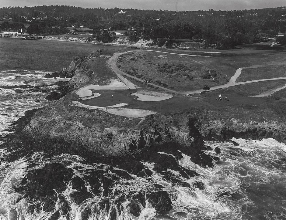 Even though Pebble Beach had hosted pros annually since 1947, the USGA initially had concerns about preparing the course for a Major.