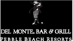 Del Monte Bar & Grill logo.