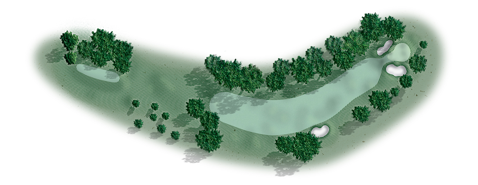 Golf hole map 2