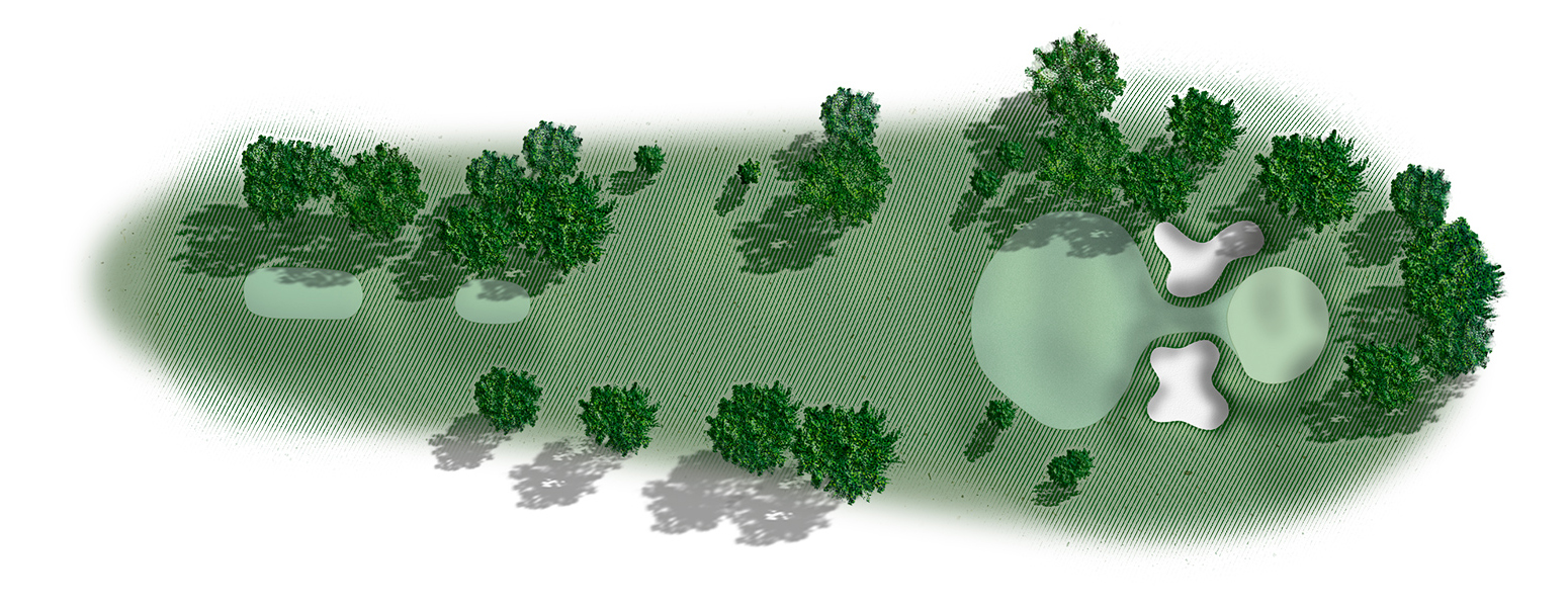 Golf hole 6 map