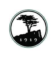 Pebble Beach golf academy logo