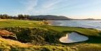 The 9th hole at Pebble Beach Golf Links