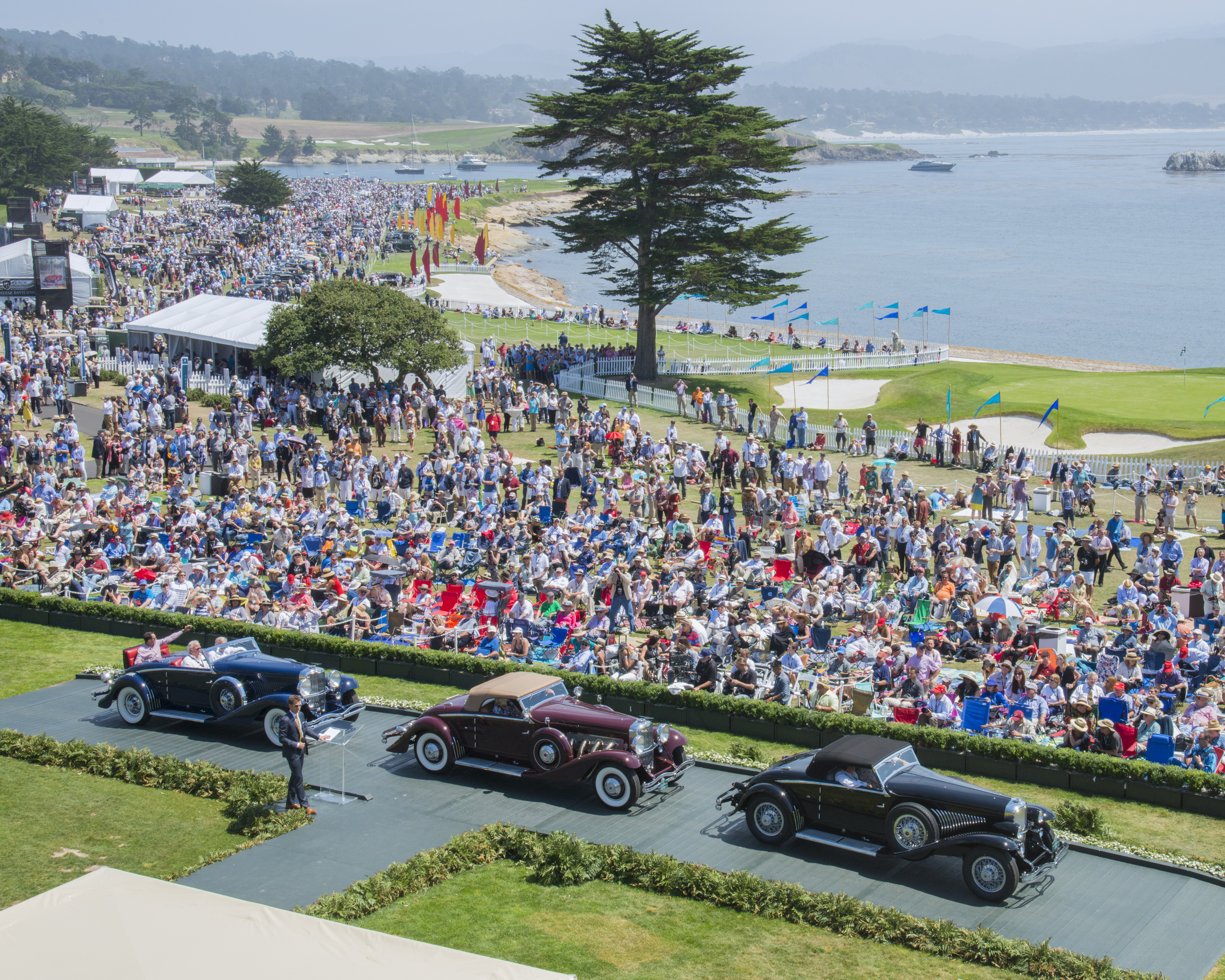 5 Tips for Your First Time at the Pebble Beach Concours d'Elegance
