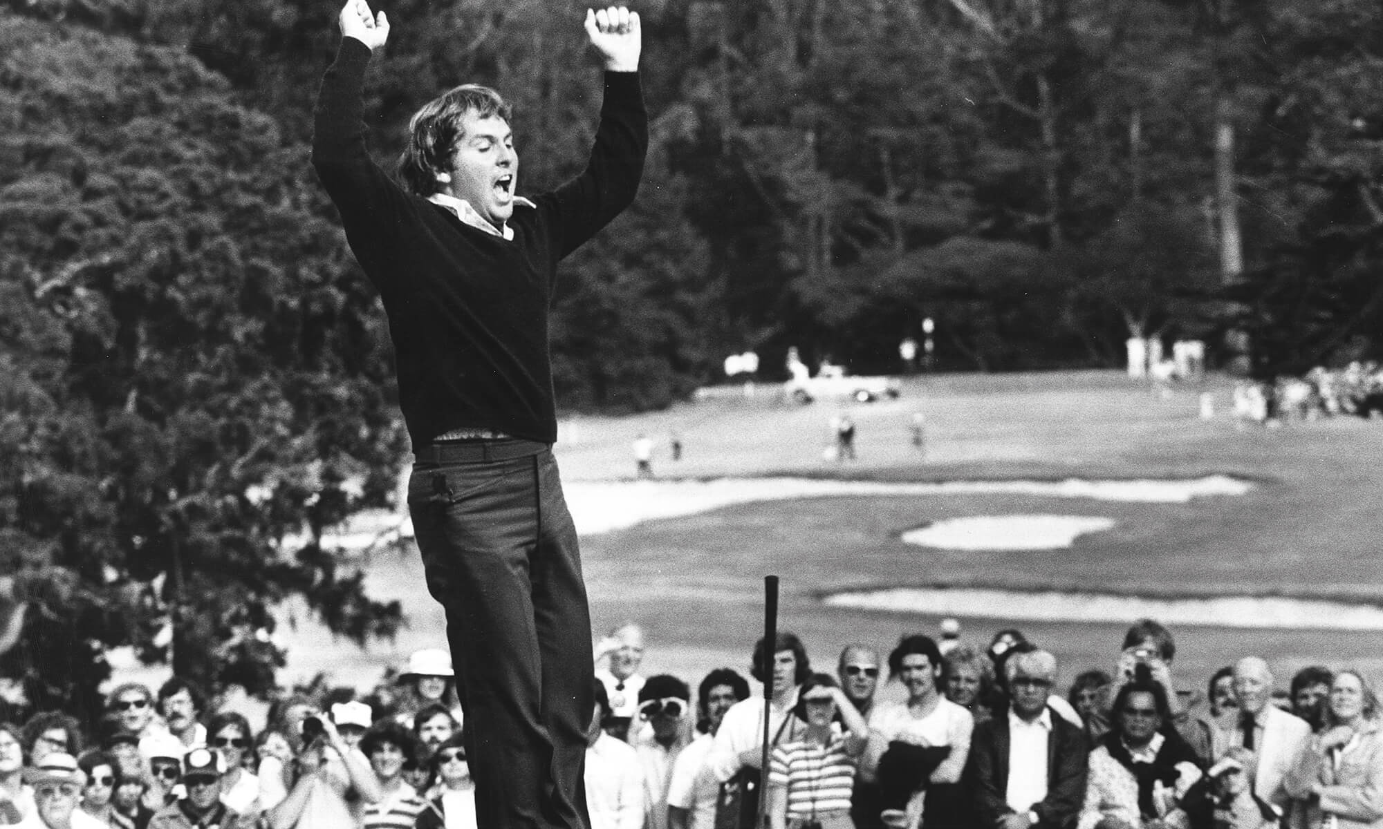 Lanny Wadkins winning PGA Championship tournament