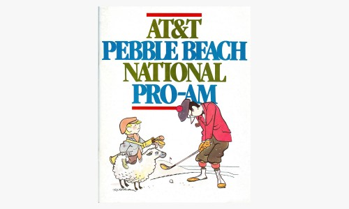 AT&T Pebble Beach National Pro-Am golf tournament ad