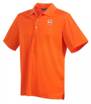 Men's Pebble Beach Collection Solid Golf  Polo Shirt
