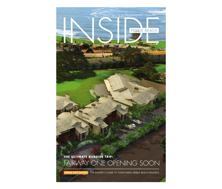 Latest Issue of Inside Pebble beach