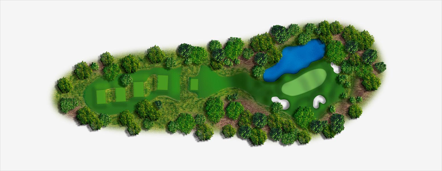 hole 12 Spyglass Hill map