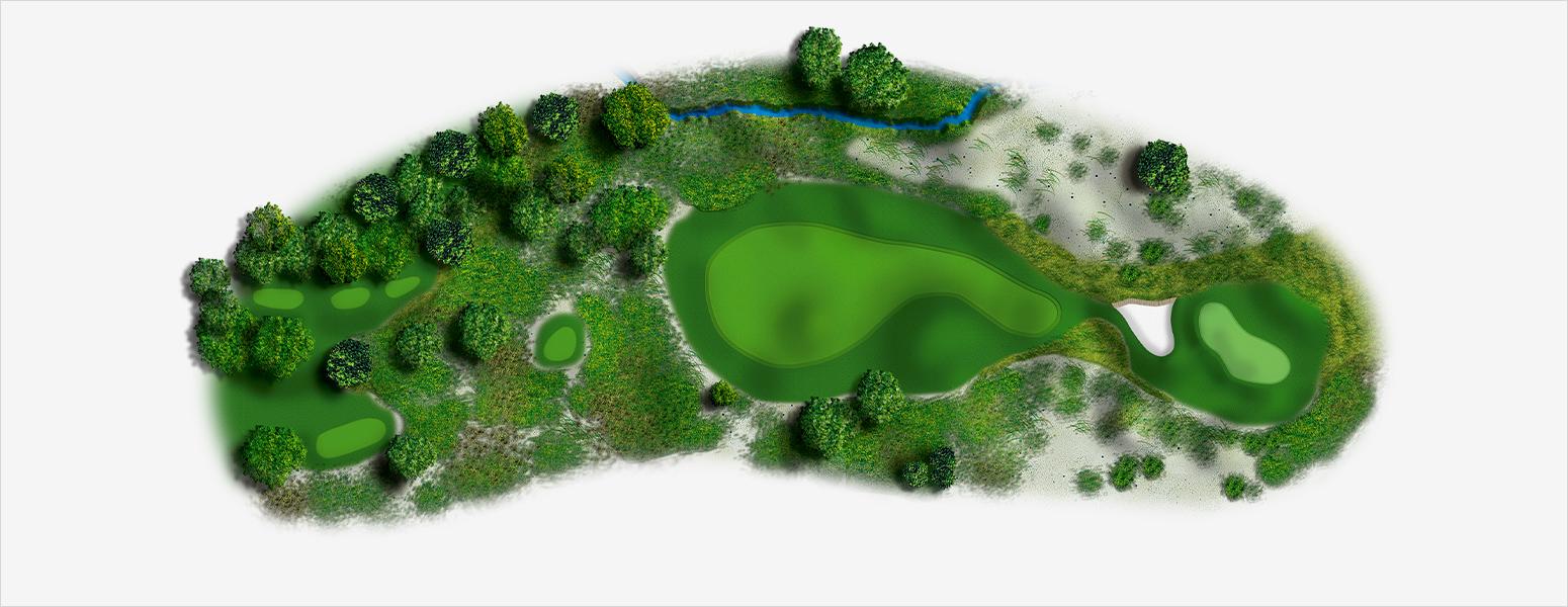 hole 2 Spyglass Hill map
