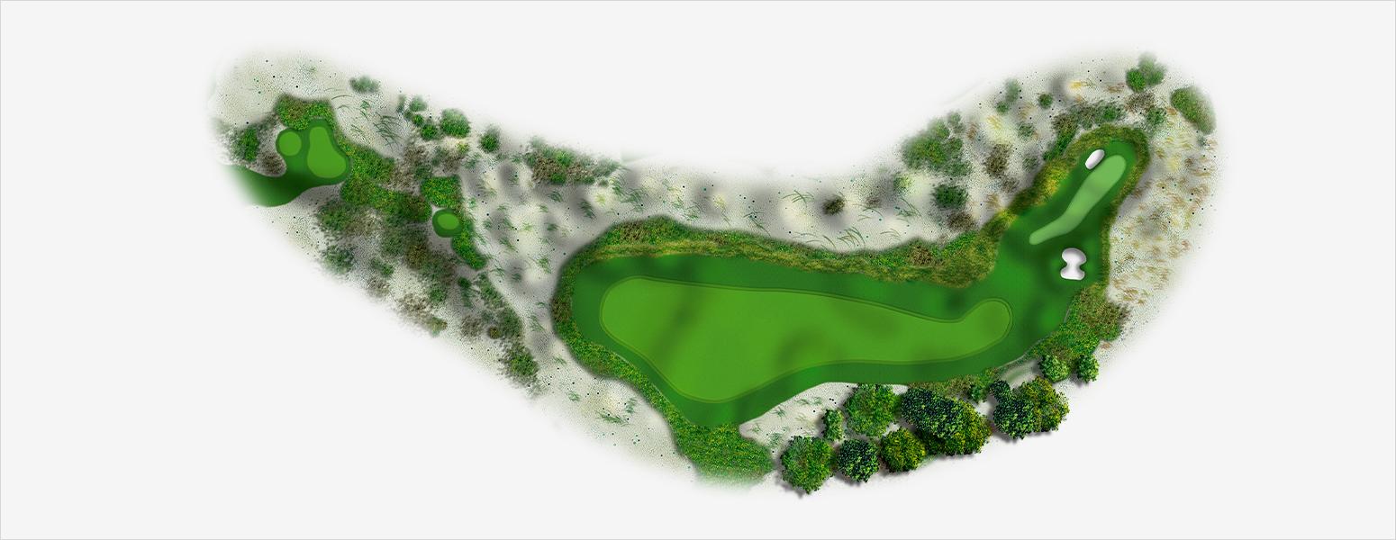 hole 4 Spyglass Hill map