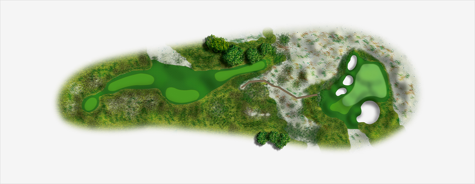 hole 5 Spyglass Hill map