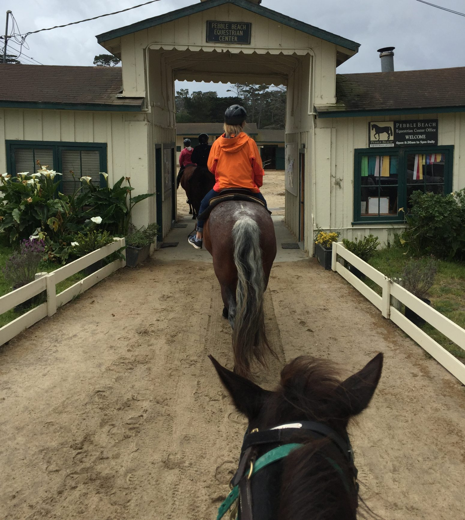 Pebble Beach Equestrian Center on 17-Mile Drive
