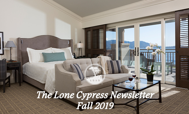 The Lone Cypress Newsletter - Fall 2019