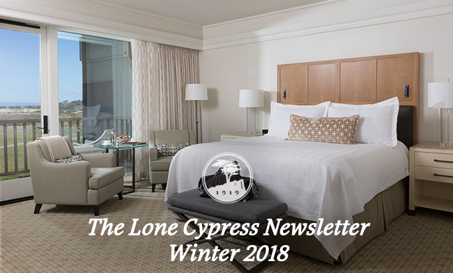 The Lone Cypress Newsletter - Winter 2018