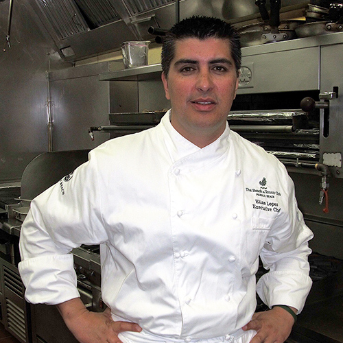 Elias Lopez, Executive Chef - The Beach Club Dining Room, Pebble Beach Resorts